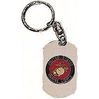 ドッグタグ キーホルダー USMC紋章 4783