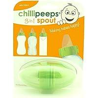 Chillipeeps 3in1 Spout, Age range 6m+, Green by Chillipeeps