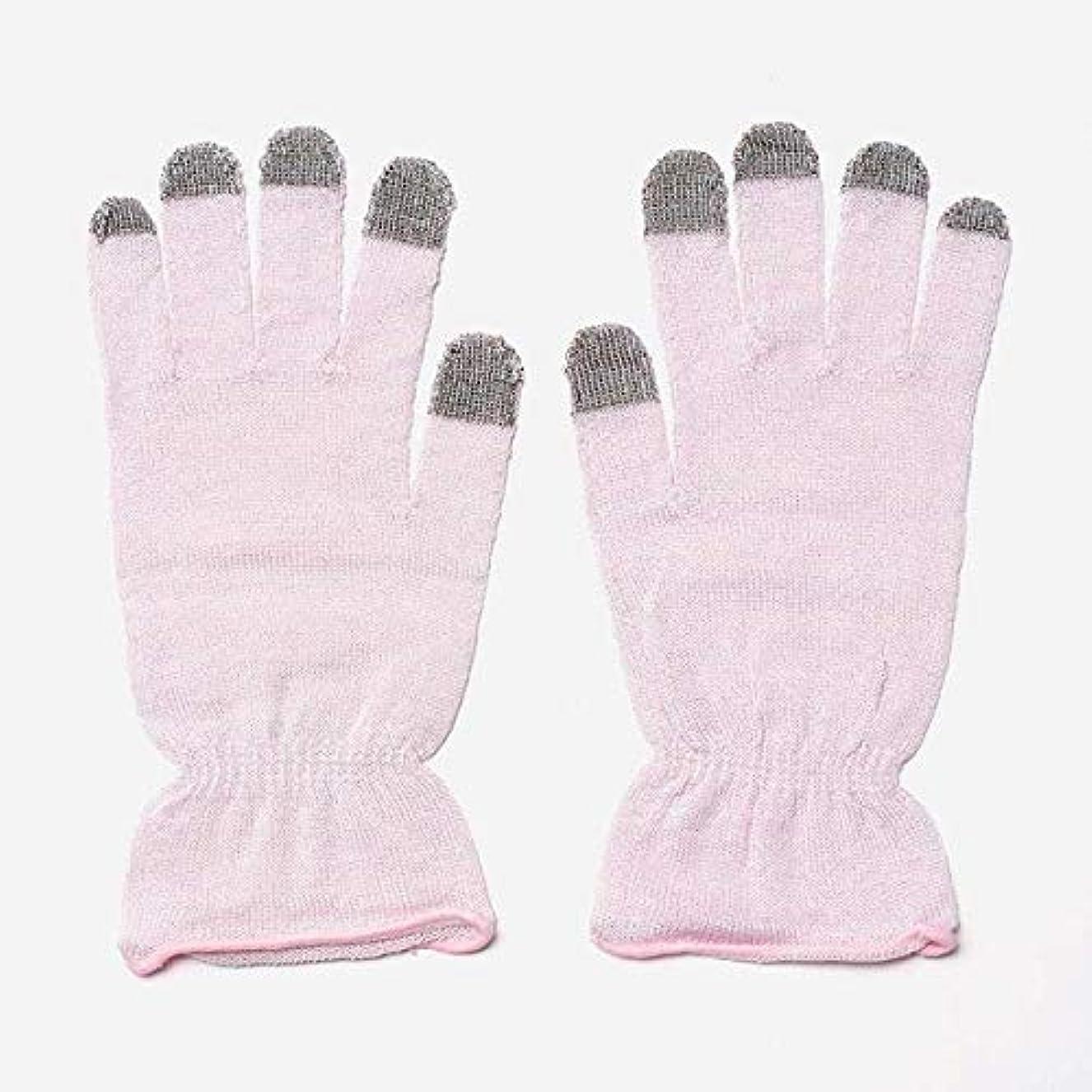 パーク付録軍隊KEYUCA(ケユカ) H 絹混 おやすみ手袋