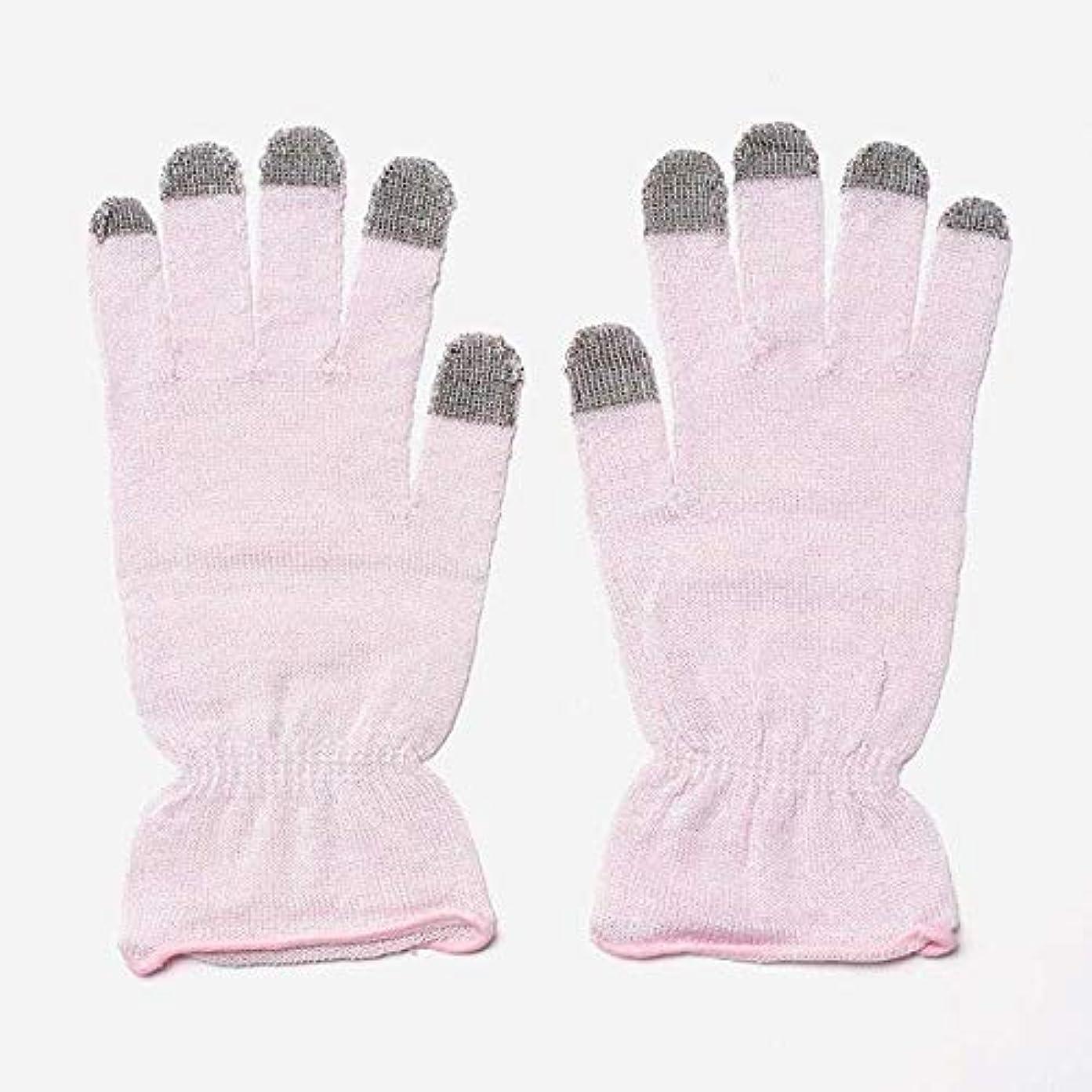 早熟構築するペニーKEYUCA(ケユカ) H 絹混 おやすみ手袋