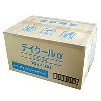テイクールα (TEICOOL ALPHA) 10x13cm 10枚入り x100袋入り 1ケース