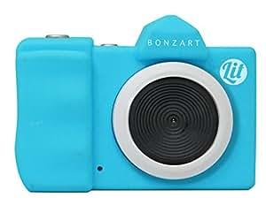 BONZART デジタルカメラ BONZART Lit+ 30万画素 背面液晶搭載 音声付動画撮影可能 スカイブルー BONZ-LIT/SB