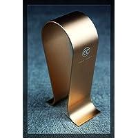 【Copper Colour】 アルミ合金製 高級ヘッドフォンスタンド ブラケット ヘッドセットフレーム ディスプレイラック 【#4】 (ゴールド)