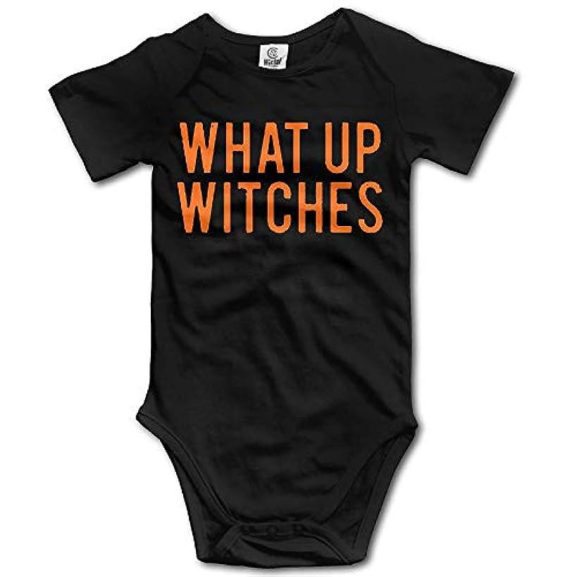 みなさん花束検出するユニセックス何が魔女ハロウィーンの赤ん坊の衣装Onesies