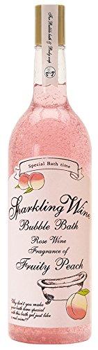 ノルコーポレーション 入浴剤 バブルバス スパークリングワイン 大容量 810ml ピーチの香り OB-WIB-3-3