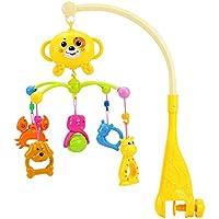 ゴチック カートゥーン ベビー クリブ ミュージカル ベッド ベル 玩具 ペンダント 吊り下げ式 動物 ガラガラガラ ギフト