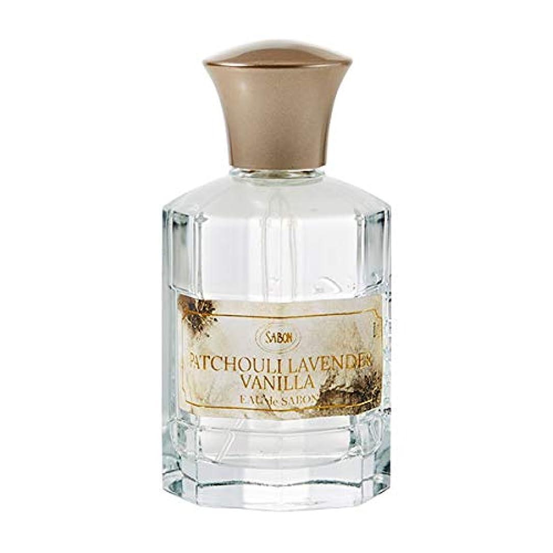 外交問題促すペチュランスサボン SABON オー ドゥ サボン パチュリラベンダーバニラ ( PATCHOULI LAVENDER VANILLA ) 80ml オードトワレ フレグランス 香水 パフューム デイリーパフューム