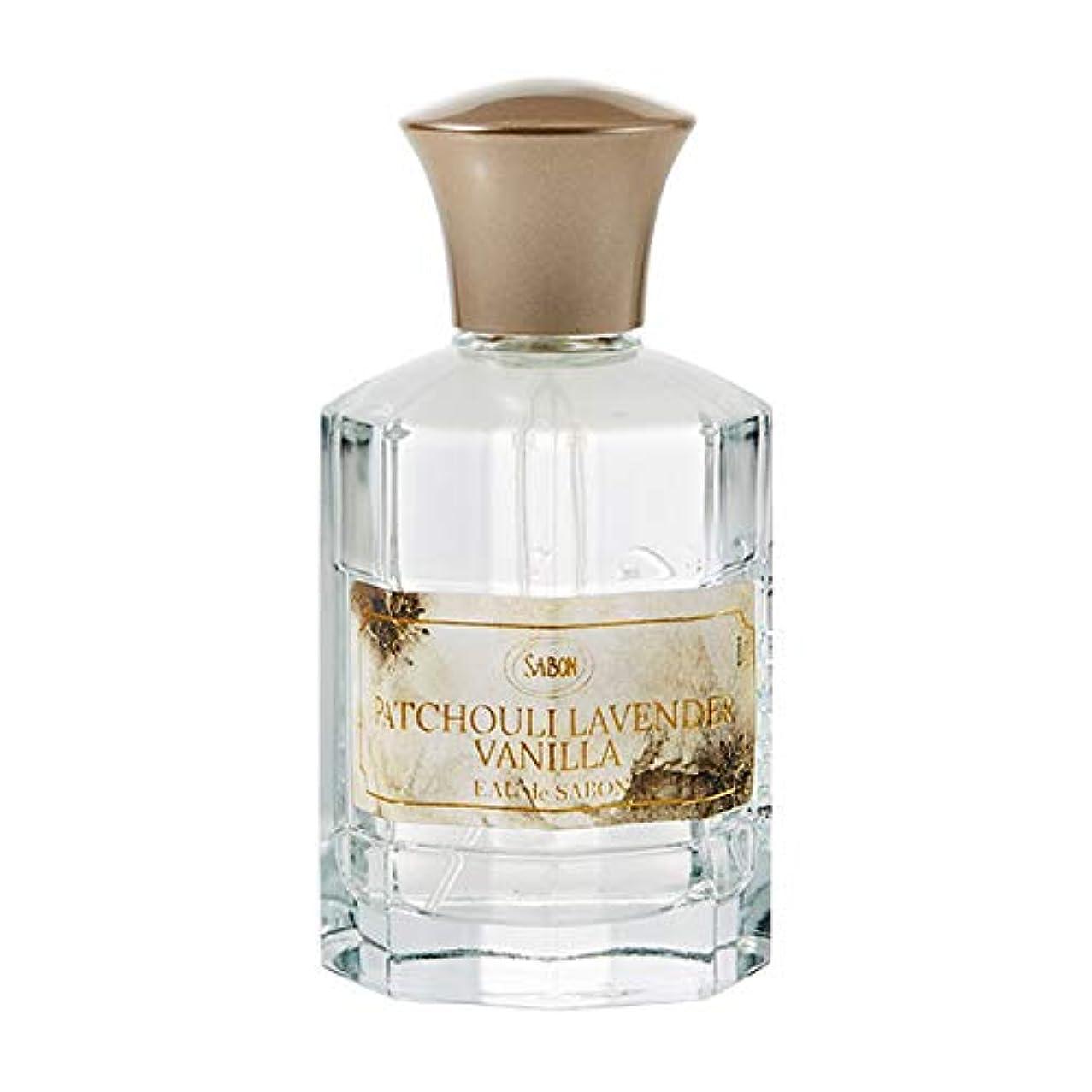 手入れアンタゴニスト進行中サボン SABON オー ドゥ サボン パチュリラベンダーバニラ ( PATCHOULI LAVENDER VANILLA ) 80ml オードトワレ フレグランス 香水 パフューム デイリーパフューム