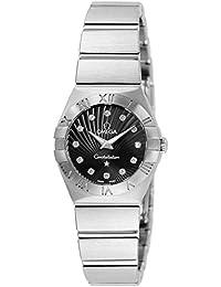 [オメガ]OMEGA 腕時計 コンステレーション ブラック文字盤 ダイヤ 100M防水 123.10.24.60.51.001 レディース 【並行輸入品】