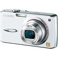 パナソニック デジタルカメラ LUMIX DMC-FX01-W パールホワイト