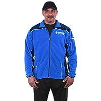 JH DESIGN GROUP Men's Yamaha Racing 2-Tone Blue Zip Up Polar Fleece Jacket (3X Royal-Navy) [並行輸入品]