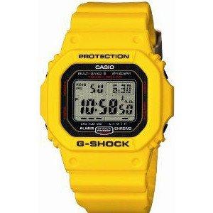 腕時計 カシオ CASIO G-SHOCK 30TH ANNIVERSARY LIGHTNING YELLOW GW-M5630E-9JR SOLAR 6 MULTIBANDS【並行輸入品】