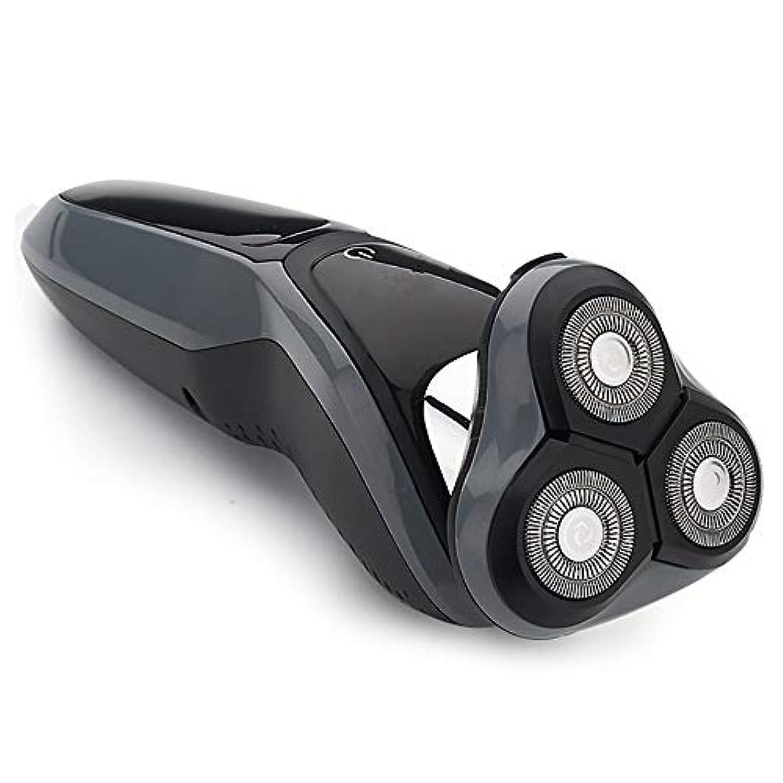 有効化うつアスレチックシェーバー、電気かみそり4-IN-1かみそり2019新しい電気シェーバー4D充電式メンズひげナイフを洗浄
