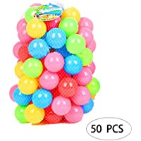 FANEO 安全非毒性PEプレイボール 50個 子供 幼児 自宅 遊び場 おもちゃ