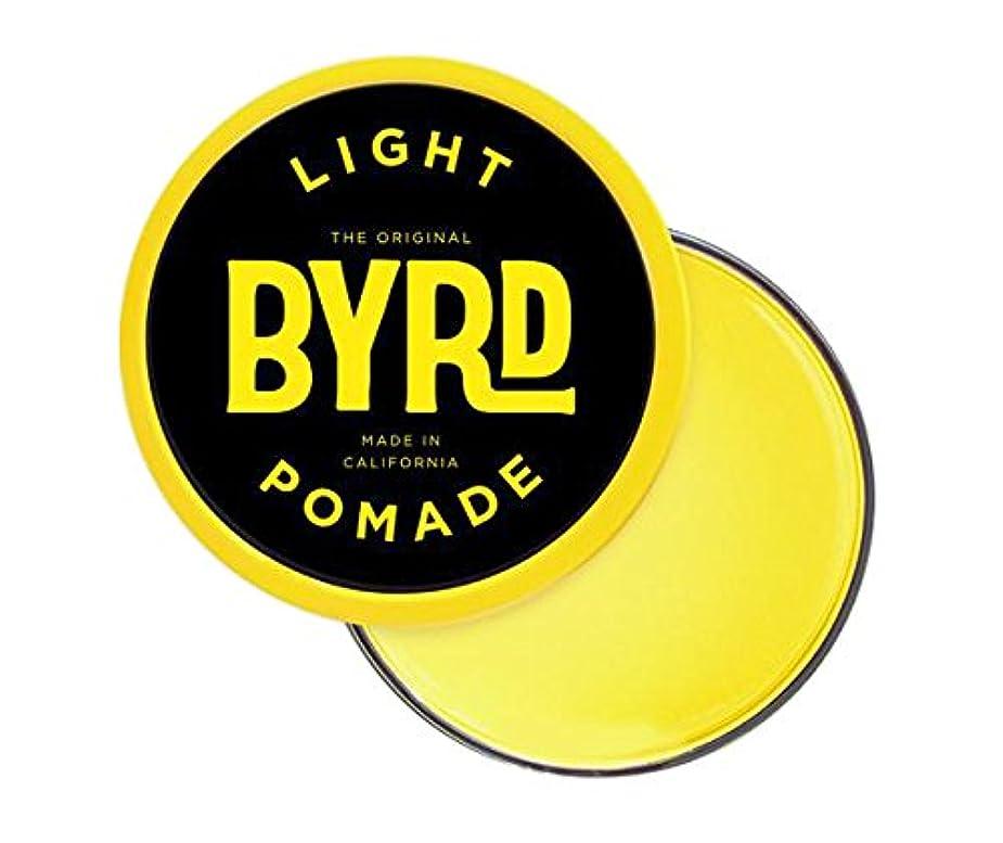 適応的呼吸緊張するBYRD(バード) ライトポマード 42g