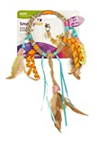 SmartyKat Dream Dangler Jute and Feather Cat Toy [並行輸入品]