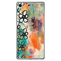 Coverfull カレイド フラワー (クリア) / for Xperia Z4 SOV31/au ASOV31-PCNT-212-M764 ASOV31-PCNT-212-M764