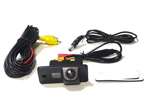 アウディ CCD バックカメラ LED ナンバー灯 一体式 ...