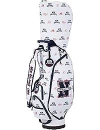 [ニューバランス ゴルフ]キャディバッグ オックス モノグラムプリント ツアータイプ キャディバッグ (9 インチ・46 インチ対応 / 3.1 Kg 仕切り数6) 012-8280003