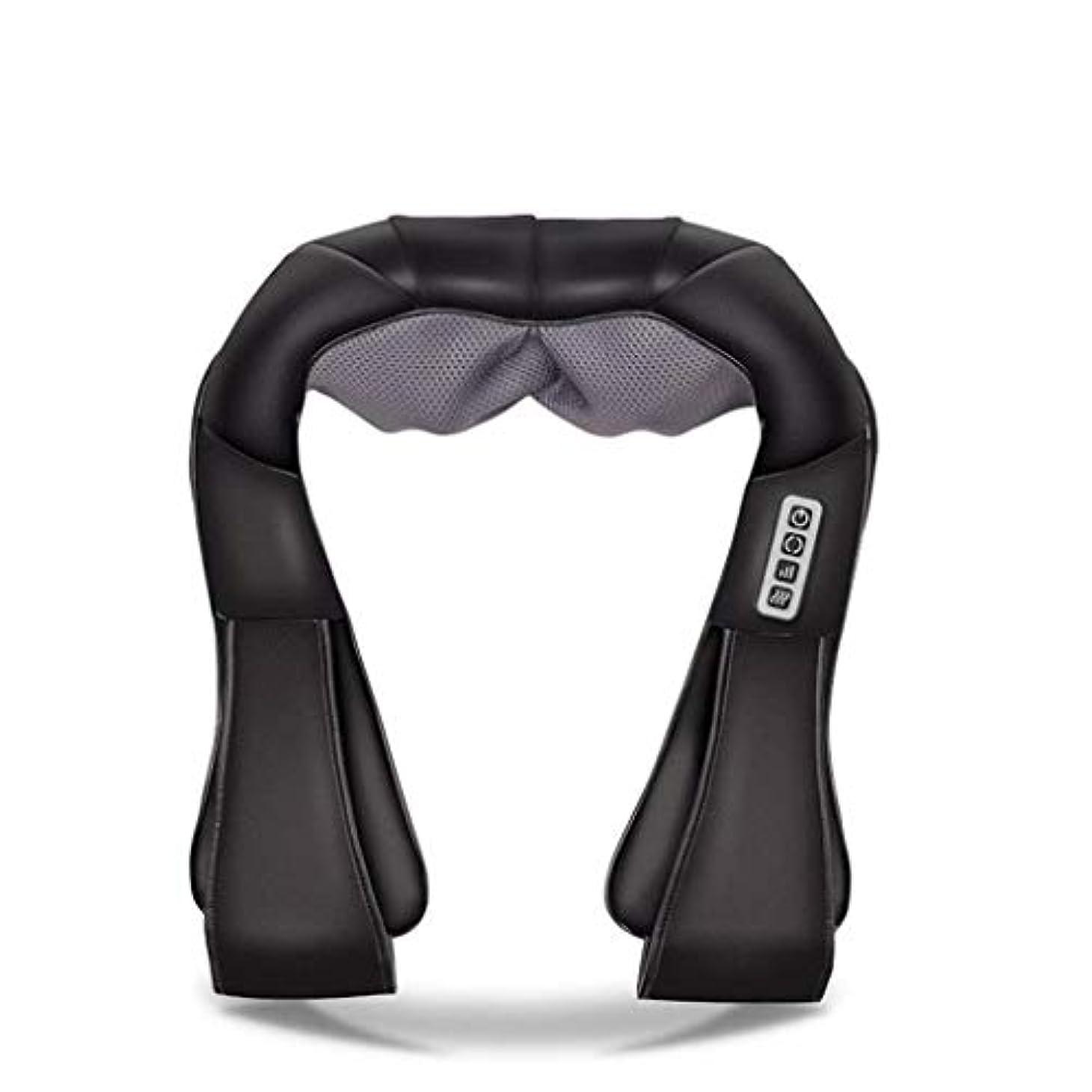 調査コメンテーター安全でない首、背中、肩、腰、足、足に適した筋肉痛と圧力を和らげるための首マッサージ器、電動マッサージ器、加熱ディープバックマッサージ器