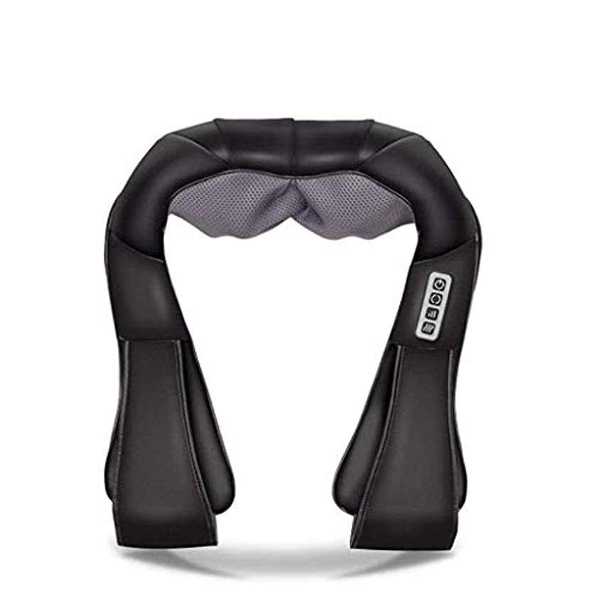シーン性別生理首、背中、肩、腰、足、足に適した筋肉痛と圧力を和らげるための首マッサージ器、電動マッサージ器、加熱ディープバックマッサージ器