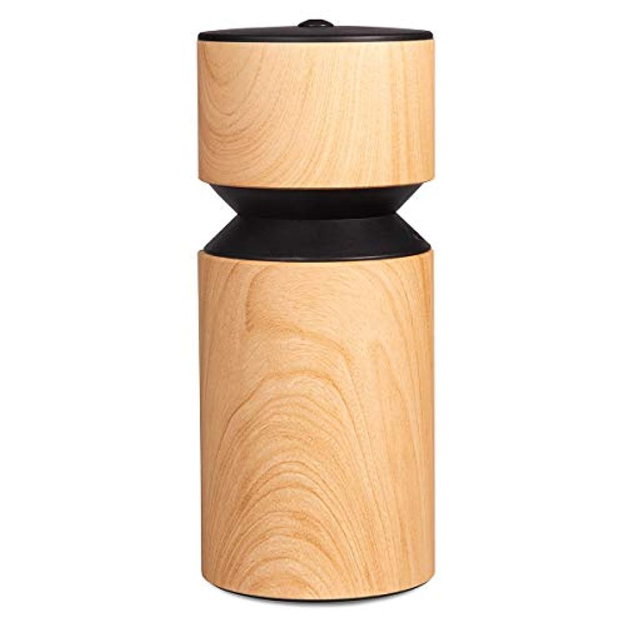 手首マインド八百屋アロマディフューザー 車内や家庭で使用 ネブライザー式 アロマライト 充電式で静か アロマバーナー S068W