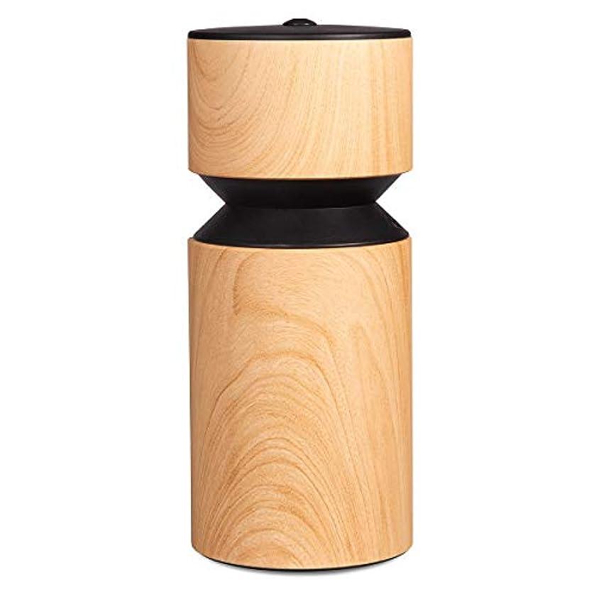 つぼみうめき声感心するアロマディフューザー 車内や家庭で使用 ネブライザー式 アロマライト 充電式で静か アロマバーナー S068W