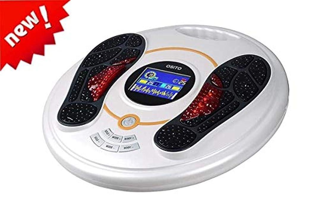 教科書レタッチ必要ない電気マッサージャー、血液循環を促進し、足と足の痛みを和らげるフットマッサージャー