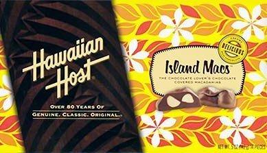 ハワイアンホースト マカデミアナッツチョコレート アイランド マックス 142g(14個入)