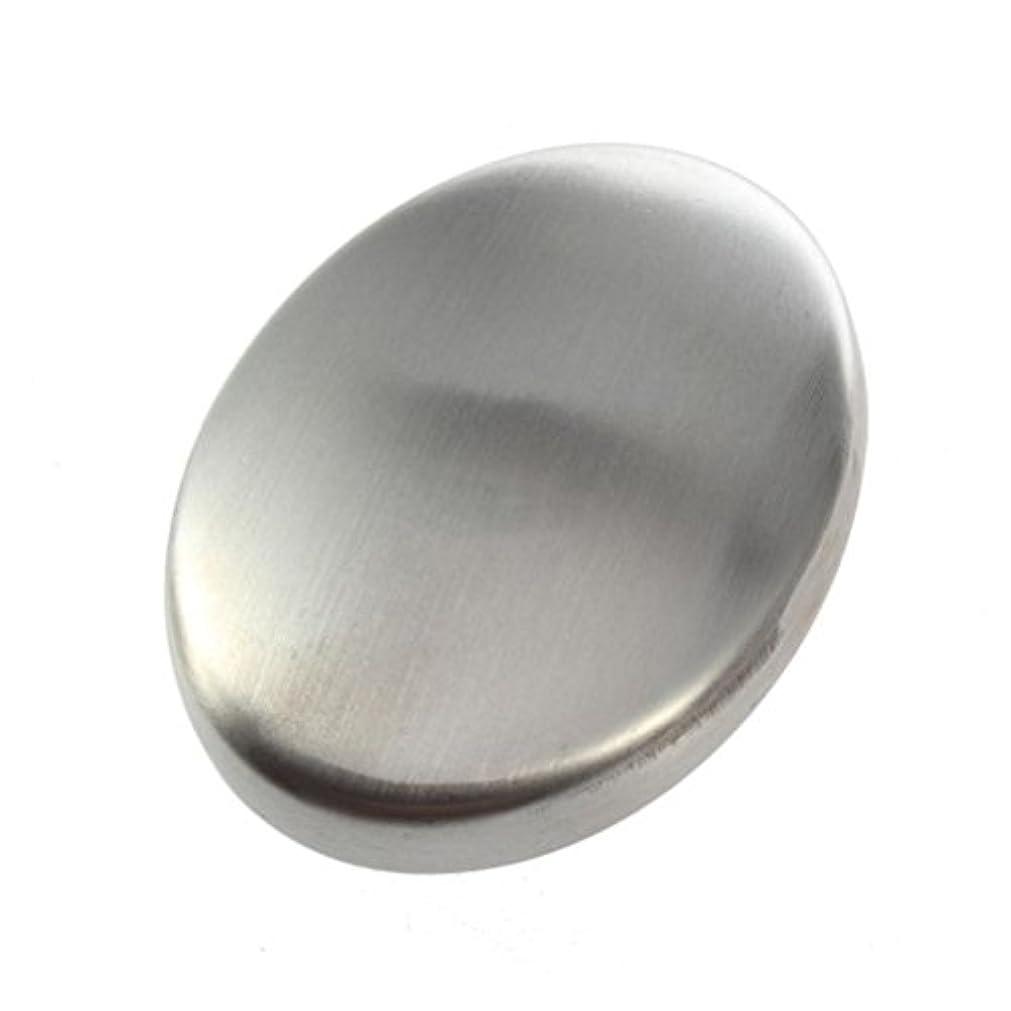 みぞれしなやかダニFlybloom ステンレス鋼の石鹸の臭気は容易な速く除去の臭いの台所棒楕円形の石鹸のための石鹸を取除きます