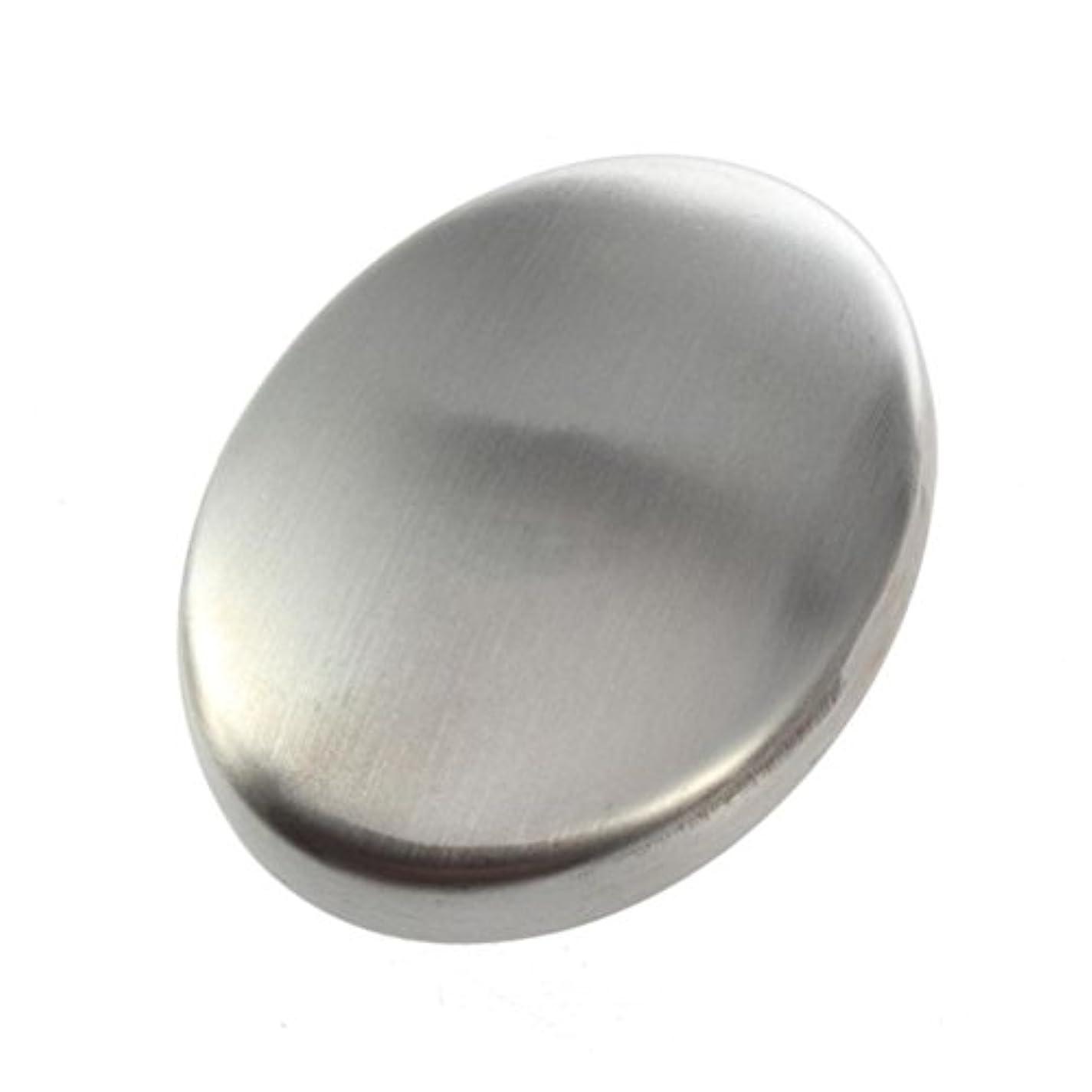 パニックラベルバーFlybloom ステンレス鋼の石鹸の臭気は容易な速く除去の臭いの台所棒楕円形の石鹸のための石鹸を取除きます
