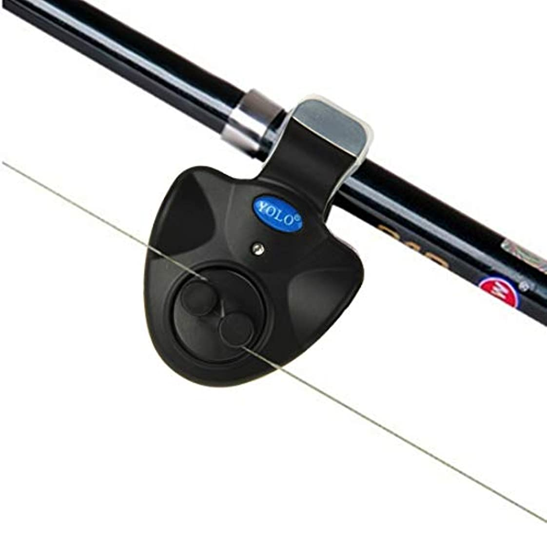 バルブ削除するかなりのWTYD アウトドア釣り用品 電子LEDライトフィッシュ咬傷サウンドアラームベル アウトドアに使う