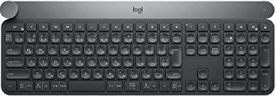 Logicoolロジクール KX1000s bluetooth ワイヤレスキーボード CRAFT マルチデバイス Windows,Mac対応 Adobe CC対応, FLOW機能対応