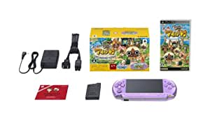 PSP「プレイステーション・ポータブル」 はじめようアイルー村パック (PSPJ-30016) 【メーカー生産終了】