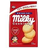 不二家 ミルキークッキー 11枚×5袋
