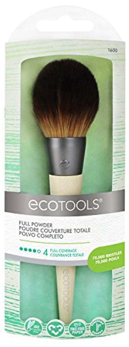 テレマコス覆すディスクEcotools Cruelty Free and Eco Friendly Full Powder Brush Made With Recycled Aluminum Materials and Bamboo Fibers...