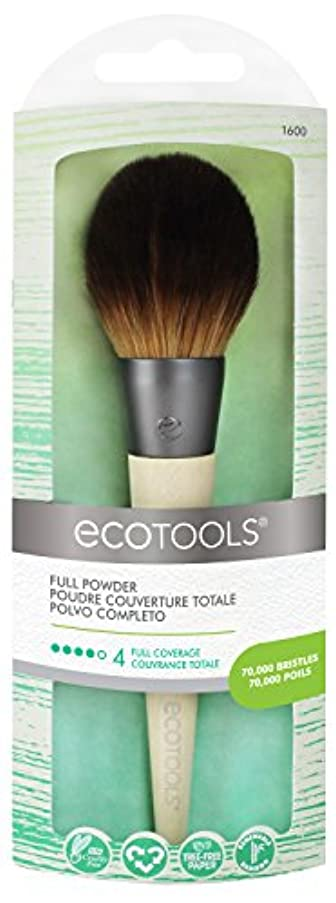 雇用者行カウンターパートEcotools Cruelty Free and Eco Friendly Full Powder Brush Made With Recycled Aluminum Materials and Bamboo Fibers, Designed with a Large, Dense, Incredibly Soft Head for Even Distribution and Blending