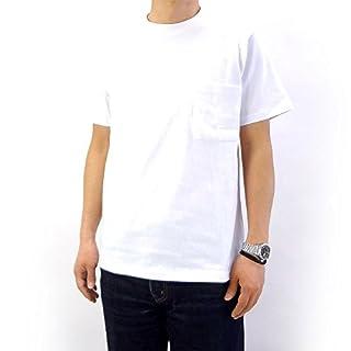 (グッドウェア) Good Wear USAコットン無地ポケットTシャツ