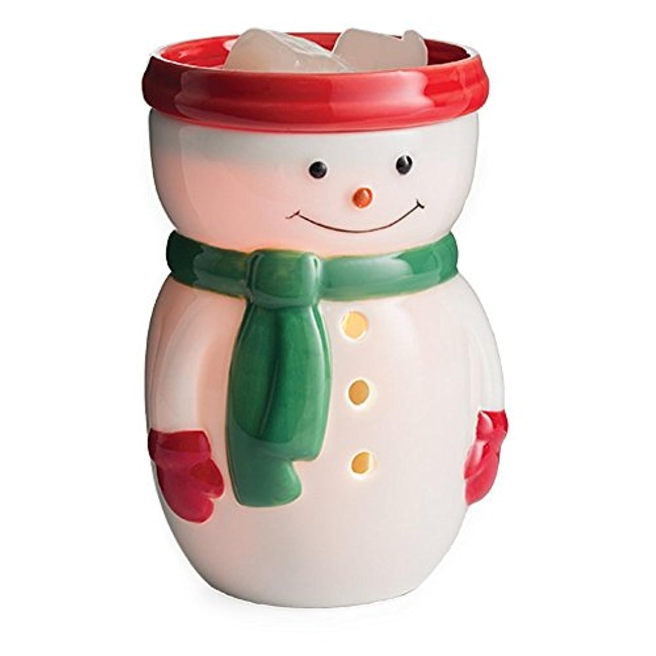 電話をかけるマラウイ秋(Snowman) - Candle Warmers Etc. Midsize Illumination Fragrance Warmer - Snowman Midsize