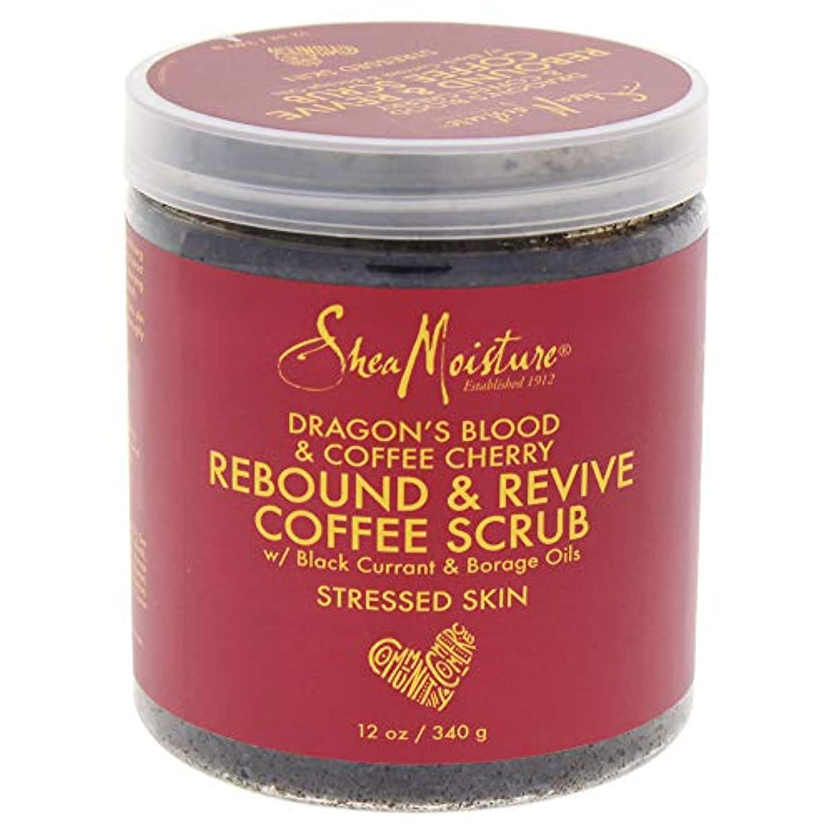 吸収剤コーデリア支出Dragons Blood & Coffee Cherry Rebound & Revive Coffee Scrub