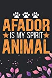 Afador Is My Spirit Animal: Cool Afador Dog Journal Notebook - Afador Puppy Lover Gifts ? Funny Afador Dog Notebook - Afador Owner Gifts. 6 x 9 in 120 pages