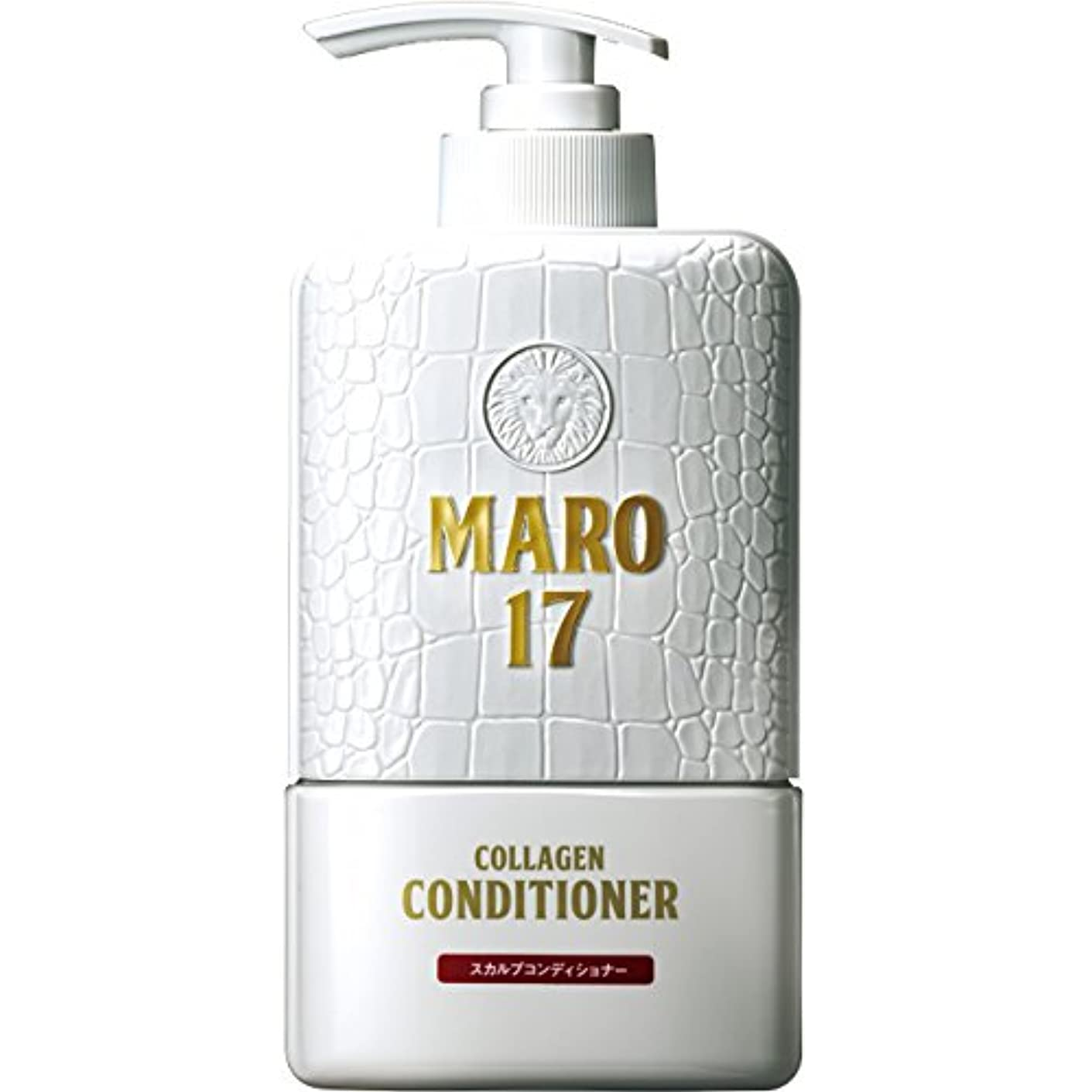 著名な大統領無効にするMARO17 コラーゲン スカルプ コンディショナー 350ml