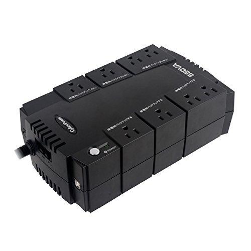 CyberPower 無停電電源装置  (常時商用給電/矩形波出力) 550VA/330W CP550JP