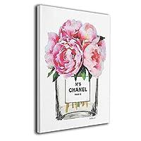 Chanel シャネル O5 香水 Art アートパネル アートフレーム モダン インナー フレーム装飾画 キャンバス絵画 ソファの背景絵画 アートボード 部屋飾り 壁の絵 壁掛け Arts モダン 木枠セット(40*50cm)