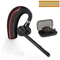 Bluetooth ヘッドセット ワイヤレスブルートゥースヘッドセット 高音質片耳4.1 内蔵マイクBluetoothイヤホン ビジネス 快適装着 ハンズフリー通話