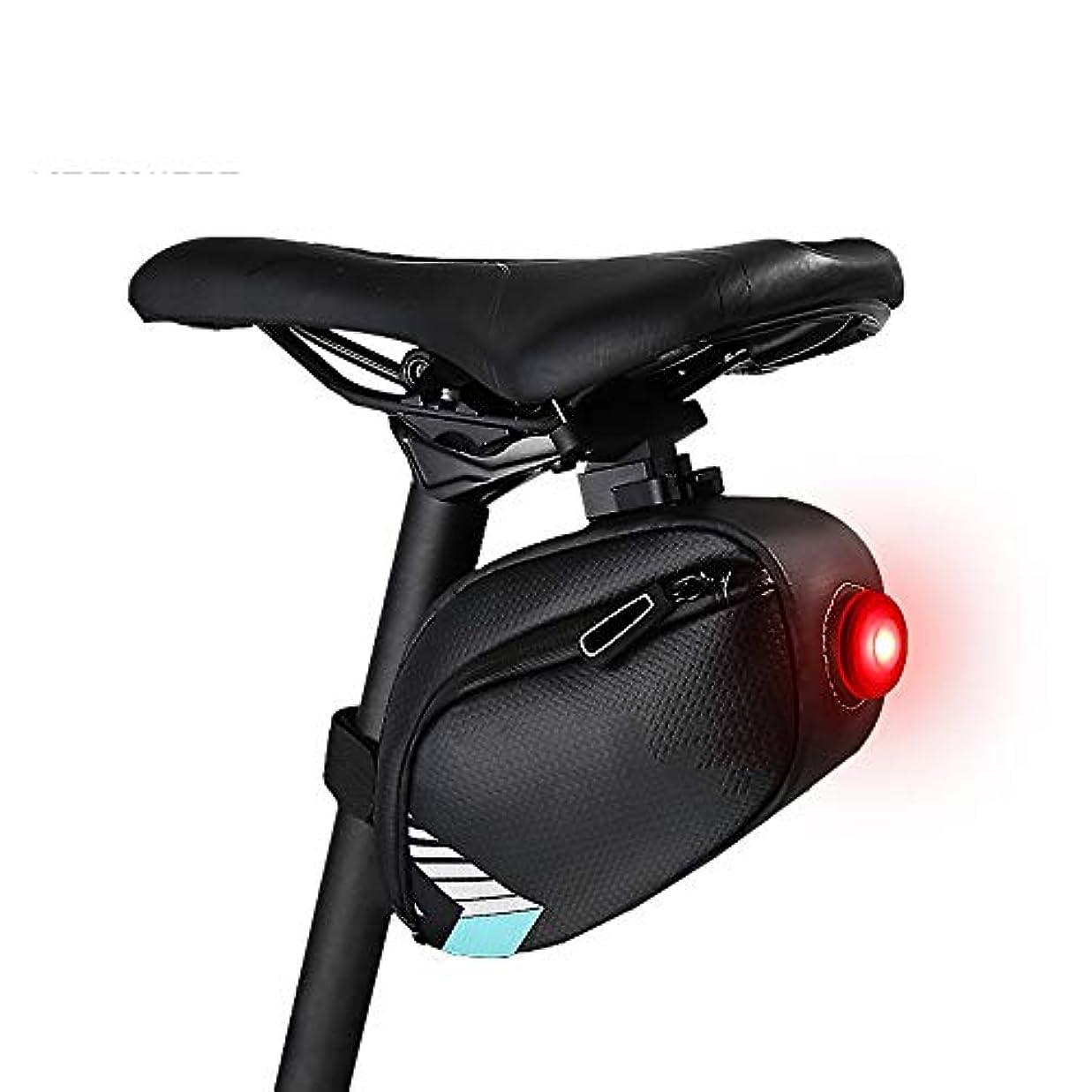 行うコンピューター胚自転車シートパックバッグサイクリング機器大容量サドルバッグ サドルバッグ?フレームバッグ (色 : 青)
