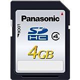 パナソニック  Panasonic SDHCカード 4GB class4