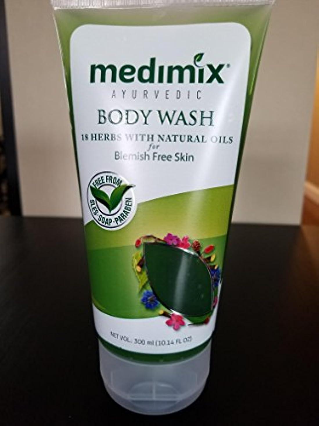スティック背が高い臭いメディミックス(Medimix) ボディウォッシュ 18ハーブス