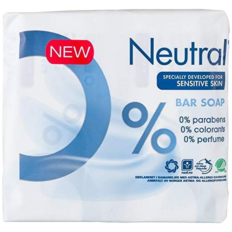 経験ディスカウント同一性[Neutral ] ニュートラル0%の石鹸 - Neutral 0% Soap Bar [並行輸入品]