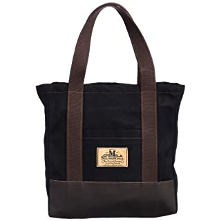 Carry All Bag with Zip M: Black